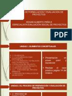 MODULO DE FORMULACIÓN Y EVALUACIÓN DE PROYECTOS