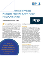 Contractor Float Utilization