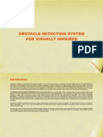 6 - Obstacle Detection System for Visually Impaired