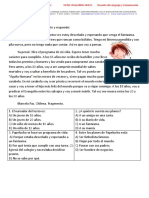 Guía Lenguaje 4° A-B N° 1