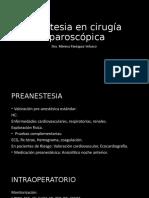 Anestesia en cirugía laparoscópica