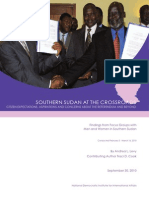 Southern Sudan at the Crossroads