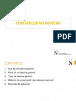 11.0 CONTABILIDAD MINERA