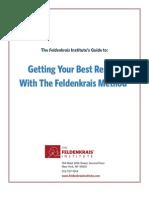 FeldenkraisInstitute Free Guide