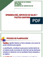 EPIDEMIOLOGÍA, SERVICIOS DE SALUD Y POLÍTICA SANITARIA.ppt