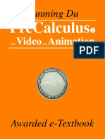 Awarded eBook, PreCalculus II, with videos and animations