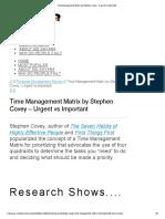 Time Management Matrix by Stephen Covey - Urgent vs Important.pdf
