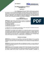 M-DS-01 ANEXO 4 REGLAMENTO INTERNO DE TRABAJO V.1