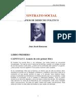 Jean-Jacques Rousseau - El Contrato Social