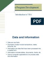 Steps in Program Development