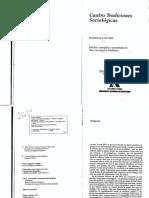 1. Libro. Collins. Cuatro tradiciones sociologicas.pdf