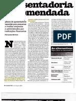 Aposentadoria encomendada - Jul/Aug2006 - Revista Exame