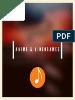 Portada disco anime