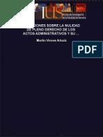 Reflexiones sobre la nulidad de pleno derecho de los actos admin_nodrm