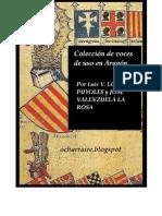 Colección de Voces de Uso en Aragón
