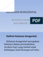 POWER POINT KELAINAN KONGENITAL