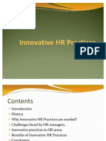 Innovative HR Practices
