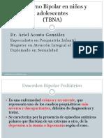 2. TRASTORNO BIPOLAR EN NIÑOS Y ADOLESCENTES.