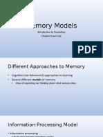 8A MemoryModelsUNF