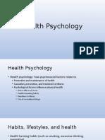 16Health PsychologyUNF