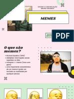 Design e Comunicação - Memes