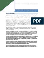 Ficha informe proyecto - Lo Espejo Tratamiento de lodos