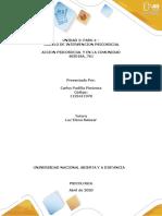 UNIDAD 2 PASO 4 modelo de intervención psicosocial ACCION PSICOSOCIAL JURIDICA