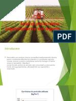 Analiza pesticidelor organofosforice din legume