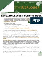 Strengths-Explorer Educator-Leader Activity Book