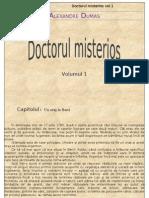 Alexandre Dumas - Doctorul Misterios Vol.1