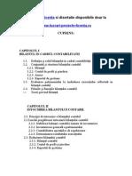 572 Analiza, Elaborarea Si Certificarea Bilantului Contabil (S.C. XYZ S.R.L.)
