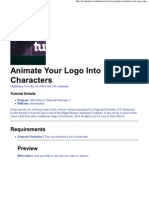Animate Your Logo Into Char..