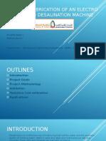 Design & Fabrication Of an Electro Dialysis(ED).pptx