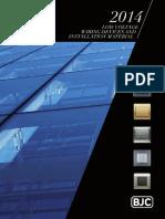 Bjc Catalog en 2014