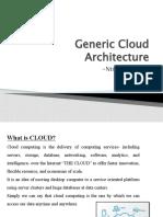 199376 Generic Cloud Architecture