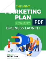 The Mint Marketing Plan For ANY Business Launch