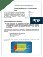 Resumen Diseño de Base de Datos Distribuidas