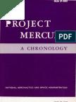 Project Mercury a Chronology