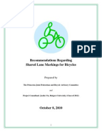 Sharrows Policy Paper 10-8-10 Final