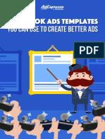 AdEspresso - 20 FB Ad Templates