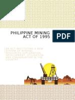 Philippine Mining Act of 1995_Part1