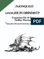 DunjonQuest Danger in Drindisti