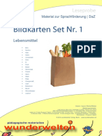 DaZ_Material_Bildkarten_Lebensmittel_1