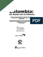 Informe Complementario al Informe de Estado Colombiano al Comité de Derechos del niño 1998-2003