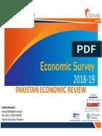 Pakistan Economic Review FY19