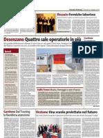 Rassegna Stampa - GdB - Venerdì 21 Maggio 2010 - Gardone.A congresso il distretto 2050 del Rotary