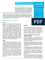 UNICEF Guinea COVID-19 Situation Report No. 6