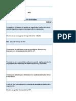 INDICADORES DE GESTIÓN SST