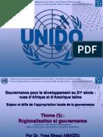Gouvernance pour le développement au 21e siècle de l'Afrique (Diaporama)