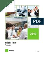 Income Tax I - Textbook 2010